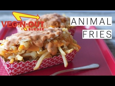 DIY In-N-Out Burger ANIMAL STYLE FRIES | Make it VEGAN Monday | The Edgy Veg