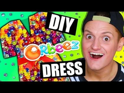 DIY Orbeez Dress   Orbeez DIY Dress Making   DIY Orbeez Clothes Dress DIY   Parody DIY Orbeez Pool