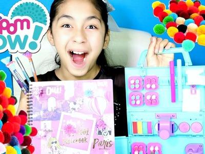 DIY Pom Pom Craft Time Fun Crafts for Girls :) |B2cutecupcakes