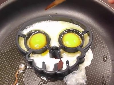 Five Little Monkeys | BINGO | DIY | How To Make Skull Fried Eggs | Learn Colors Slime Clay Combine