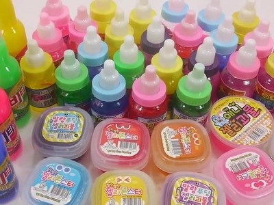 How To Make DIY ★ Combine All the Colors Slime Clay