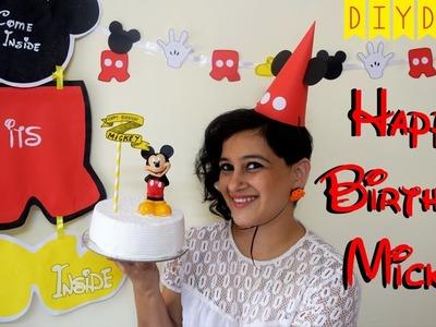 Mickey Mouse Birthday Party | Fun DIY Ideas