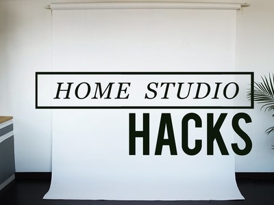 MUST KNOW HOME STUDIO HACK FOR DIY BACKDROPS