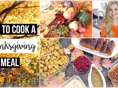 Thanksgiving Special: Cook a 6 Course Vegan Thanksgiving (+ Lunch Recipe & DIY Tablescape)