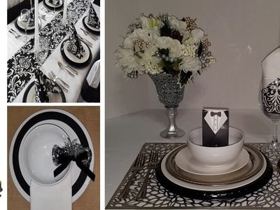 "DIY Dollar Tree Place Settings and Centerpieces ""Haves VS Have Nots With Solutions"" PT. 2"