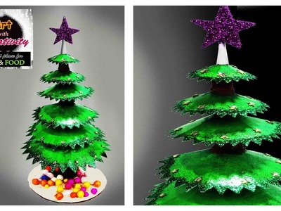 DIY Mini Christmas Tree | Cute And little | Art with Creativity