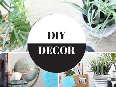 DIY Room Decor - Minimalist Plants * Urban + Anthropology Inspired!