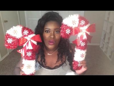 Dollar Tree Christmas Haul + DIY Decor!!!!