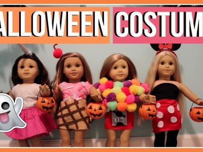 HALLOWEEN COSTUMES | What My American Girl Dolls Wore for Halloween! 2016 | DIY Halloween Costumes