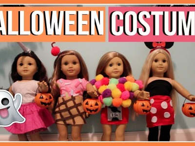 HALLOWEEN COSTUMES   What My American Girl Dolls Wore for Halloween! 2016   DIY Halloween Costumes