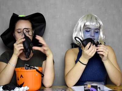 In the next video. Halloween - DIY and HAUL video
