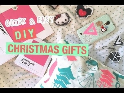 QUICK & EASY DIY CHRISTMAS GIFTS 2016