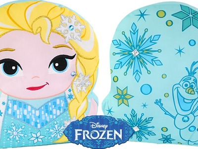 Beautiful Elsa Coloring Pillow * Disney Frozen Olaf Color Craft * DCTC Toy Videos