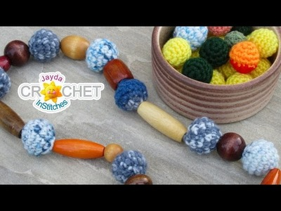 Crochet Beads & Jewelry - Festival Fashion DIY