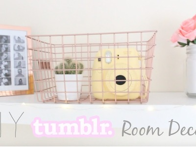 DIY COPPER ROOM DECOR 2016! | LifewithChloe
