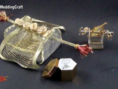 DIY Doli Pattern Ring Box | How to make | JK Wedding Craft 101