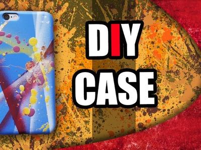 DIY   GRAFFITI PHONE CASE