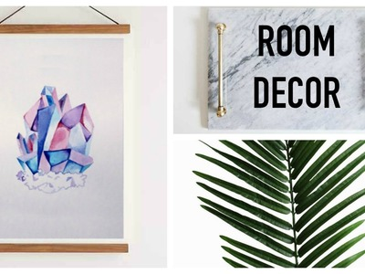 DIY Minimalist Room Decor | Natasha Rose