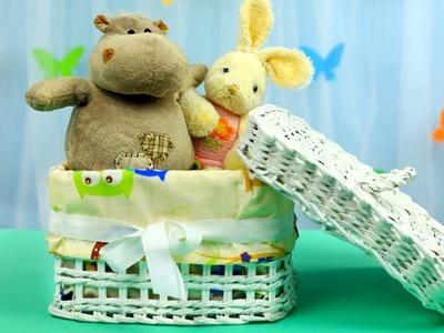 DIY Paper Tube Toy Box