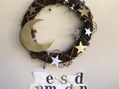 DIY Ramadan door wreath