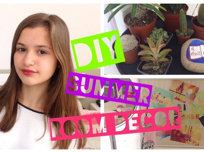DIY summer Room Decor !