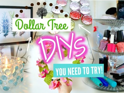Dollar Tree DIY's You NEED To Try! | Ms. Craft Nerd