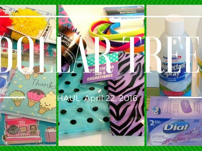 Dollar Tree Haul ~ Craft | Beauty | Essentials - 04.22
