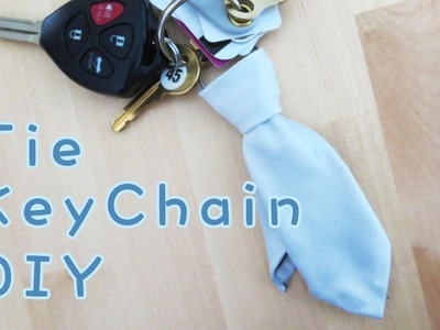 Father's Day Gift Idea - Tie Key Chain | Sunny DIY