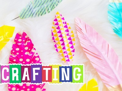 How to Craft a Duck Washi® Tape Feather
