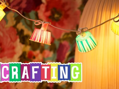How to Craft Duck Tape® Paper Cup Lights