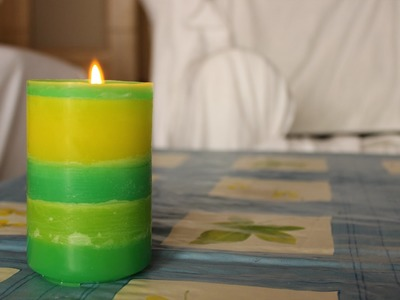 How to Make a Cool DIY Candle