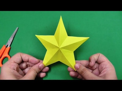 How to make an origami paper star | Origami. Paper Folding Craft, Videos & Tutorials.