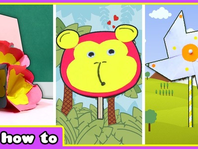 Innovative DIY Paper Craft Ideas by HooplaKidz How To