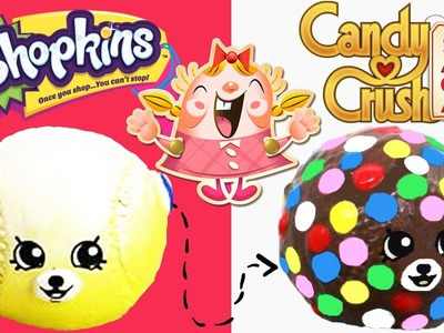 Shopkins Custom Season 5 Bessy Baseball Candy Crush BOMB!! DIY Custom Paint | Toy Caboodle