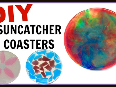 Suncatcher Coasters DIY ~ Another Coaster Friday ~ Craft Klatch ~ How To