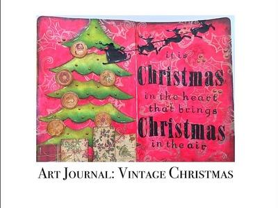 Art Journal: Vintage Christmas