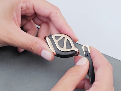Leaf Urban bracelet tutorial
