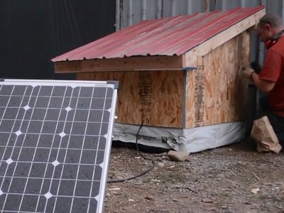 Our DIY Timber Frame Solar Battery Box (Part 2)