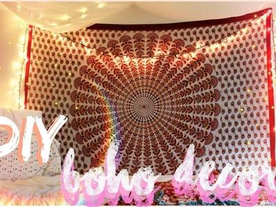 DIY Boho & Tumblr Inspired Room Decor