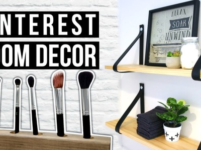 DIY Pinterest MAKEOVER | DIY ROOM DECOR 2016