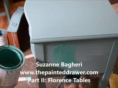 Florence Tables Part II: Chalk Paint Tutorial