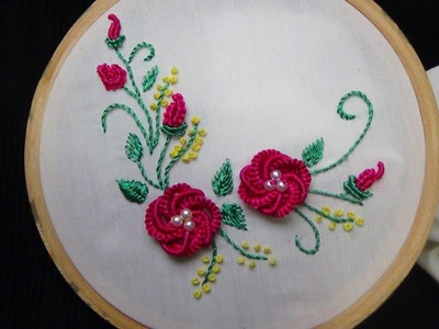 Hand Embroidery: Brazilian Embroidery