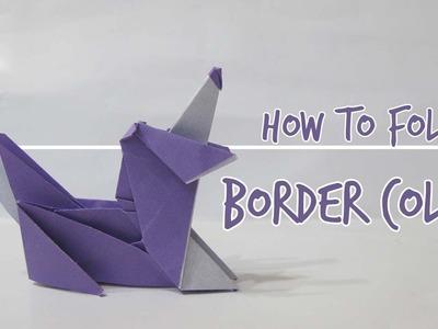 How to fold a Dog - Border Collie (Fuchimoto Muneji)