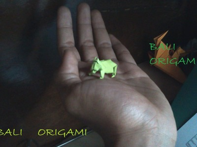 How to make Origami Bear ( John montroll)