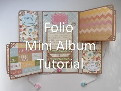 Mother's Day Folio Mini Album Tutorial