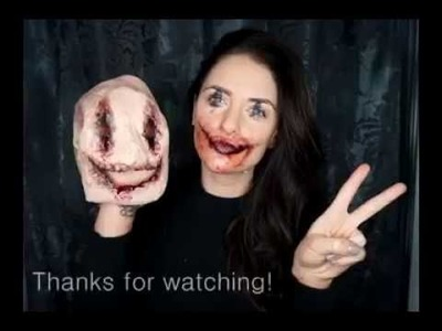 Scary Horror Costume for Halloween - Makeup Tutorial
