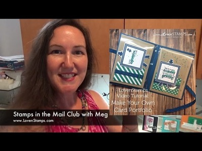 Simple Stamping Gifts: Make Your Own Card Keeper Portfolio