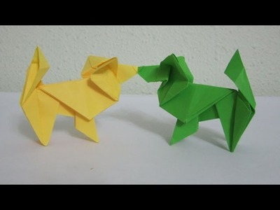 TUTORIAL - How to make an Origami Dog (The Papillon)