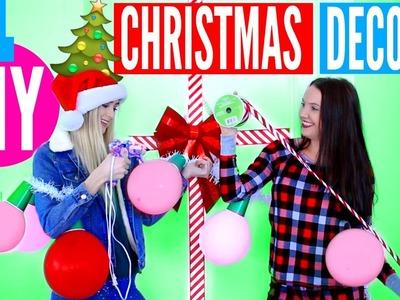 DIY Christmas Room DECOR! Easy Holiday Decor Ideas