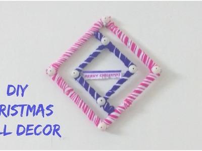 DIY Christmas Wall Decor || Christmas Decoration Ideas 2
